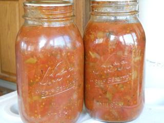 Spring Garden 2012 Tomato Sauce
