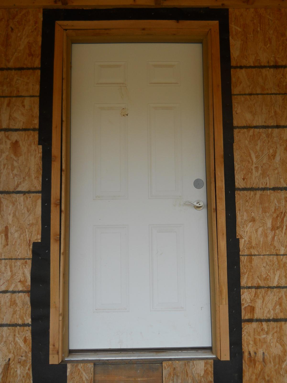 front screen door inner frame side view