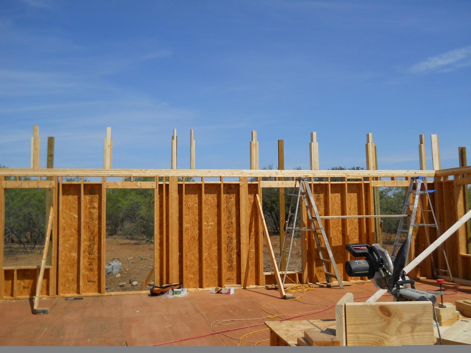 house pony walls framing - Pony Wall