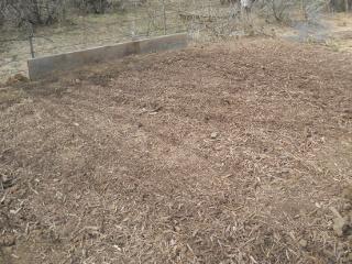 Hugelkultur Garden Bed Complete