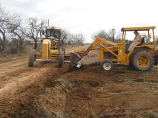 Burying Culvert Pipe