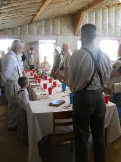 Beginning the Passover Seder