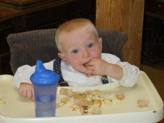 Thanksgiving 2011 Timothy Eating