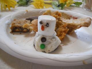 A Snowman Delectable